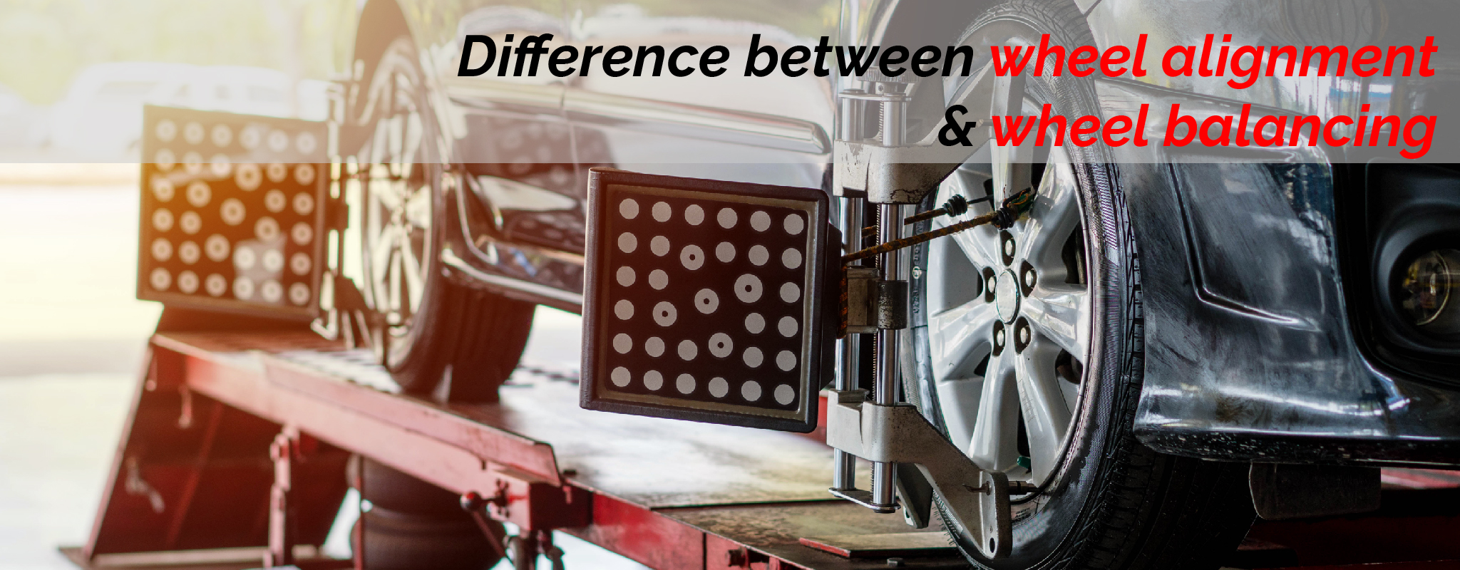 difference between wheel alignment and wheel balancing