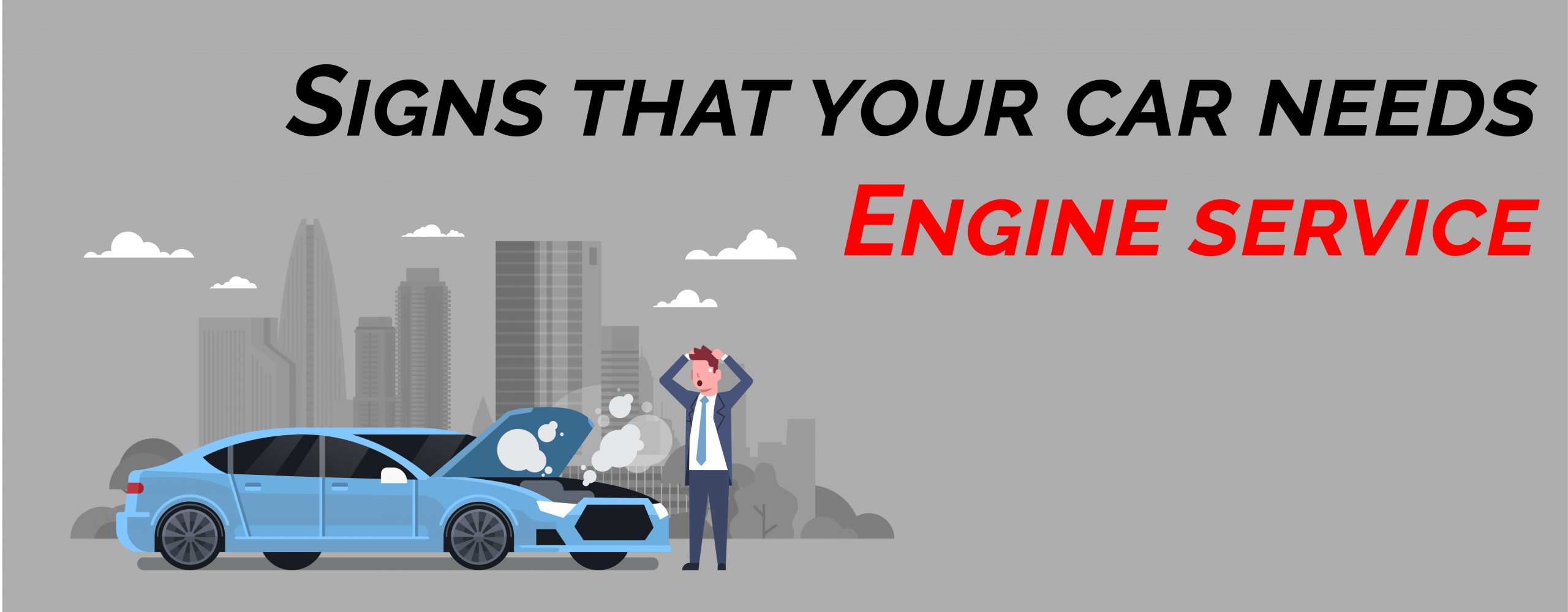 Signs that your car needs engine service